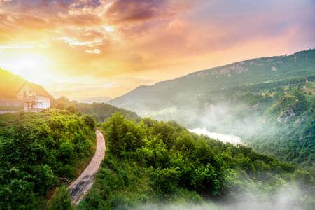 Mountains in Montenegro