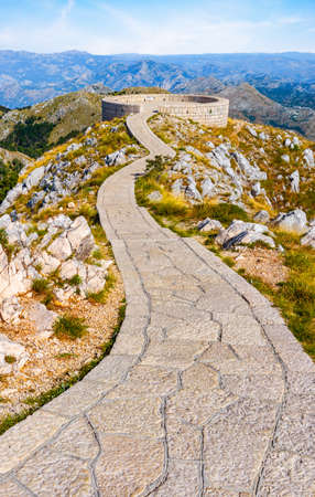 Viewpoint On Lovcen Mountain 写真素材 - 128850036