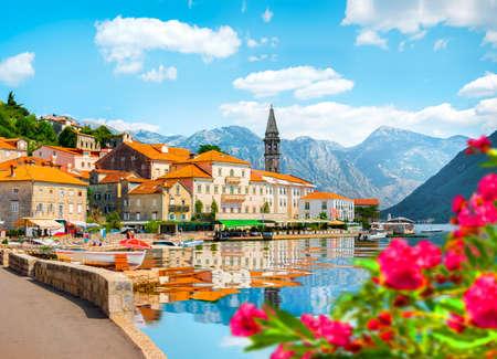 Perast at Bay in Kotor