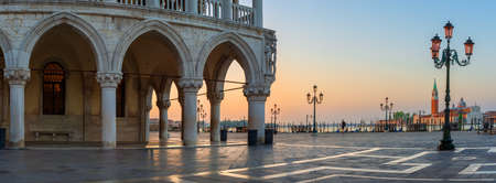 Sunrise at San Marco in Venice, Italy Imagens