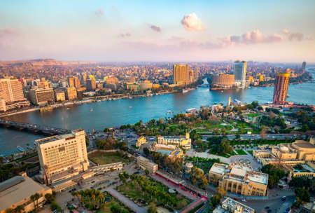 Panorama von Kairo