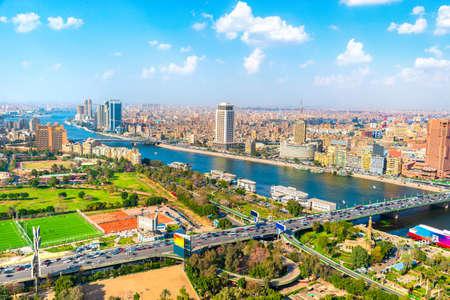 Luftaufnahme von Kairo
