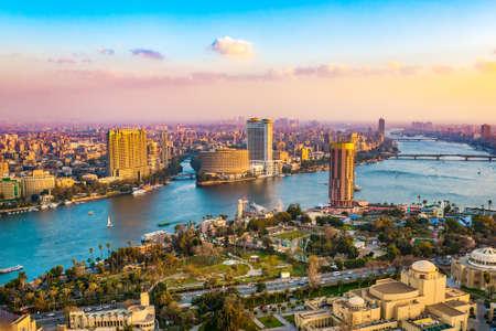 Stadtbild Kairo Stadt