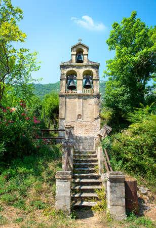 Separate belfry in Prcanj