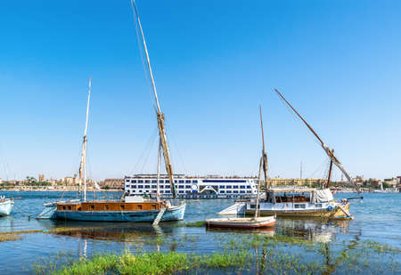 Boats in Luxor