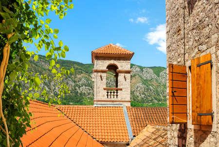 Saint Francis bell tower Banco de Imagens