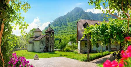 Dobrilovina Old Monastery Banco de Imagens