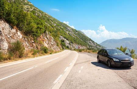 Highway in Montenegro