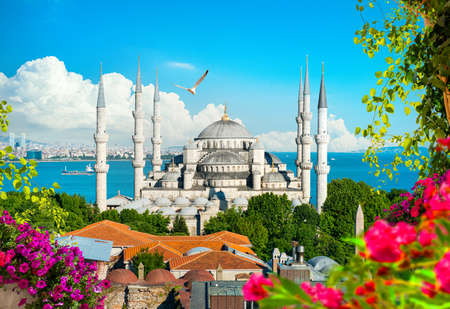 Beautiful view of mosque