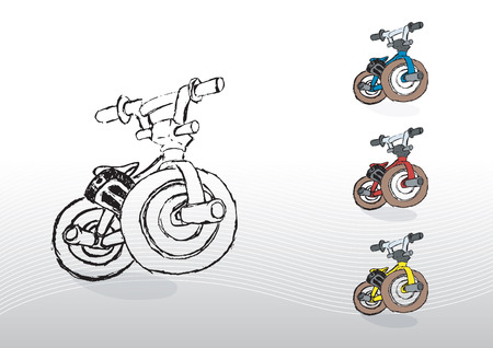 Bike (bmx) Illustration