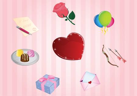 Valentines day icon Illustration