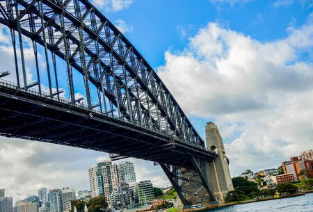 Harbour Bridge in Sydney Australia Editorial