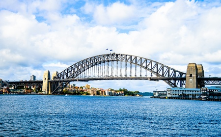 Harbour Bridge in Sydney Australia Stock Photo