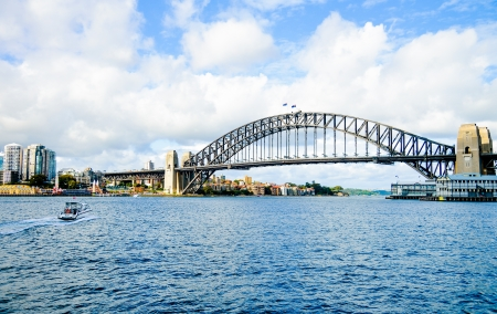 Harbour Bridge à Sydney en Australie