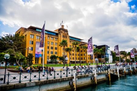 Museo de Arte Contemporáneo de Sydney Australia Foto de archivo - 20158070
