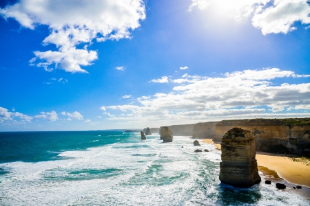 The twelve apostles in Great Ocean Road Australia photo