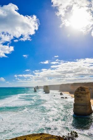 The twelve apostles in Great Ocean Road Australia photo