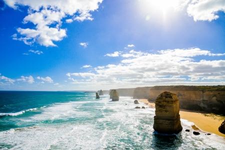 Les douze apôtres à Great Ocean Road Australie Banque d'images - 20358371