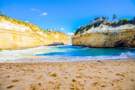The Loch Ard Gorge Lookout in Great Ocean Road Australia