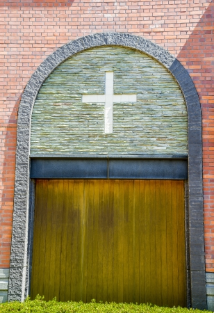Church door photo