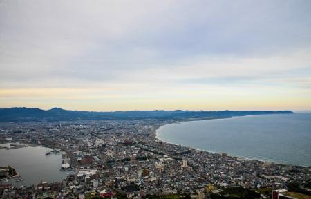 Belle scène à Hakodate Japon1
