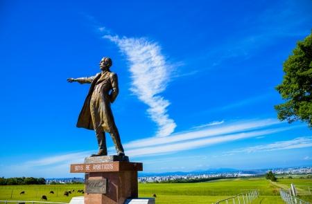 Professor Clark Statue in Sapporo Japan3