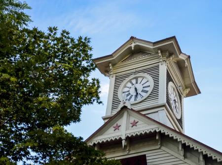 Sapporo tour de l'horloge à Sapporo Japon5 Banque d'images
