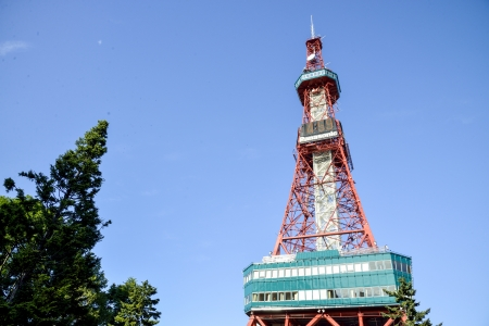 Sapporo TV Tower in Sapporo Japan2