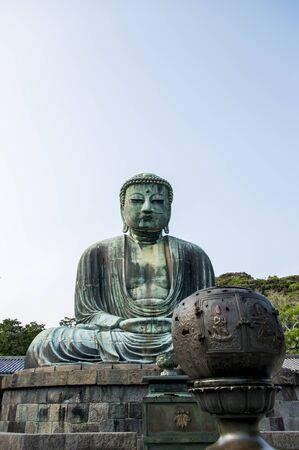 Big buddha statue in Kamakura Japan2