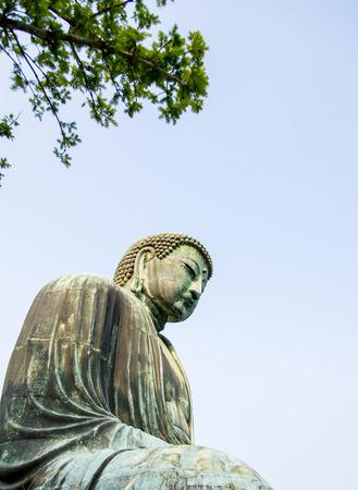 Big buddha statue in Kamakura Japan