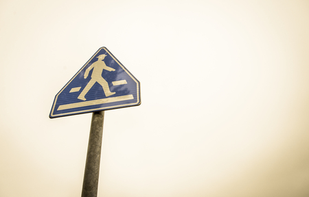 Walking sign photo