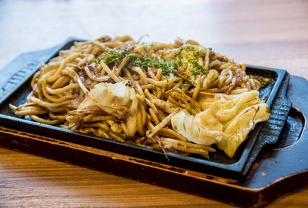 yakisoba: Fried noodel in Yakisoba style1