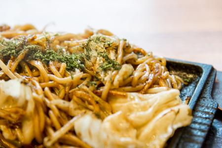 yakisoba: Fried noodel in Yakisoba style2 Stock Photo