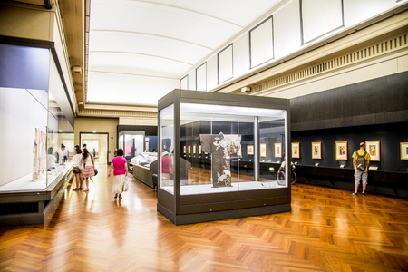Dentro de Museo Nacional de Tokio Foto de archivo - 23583344
