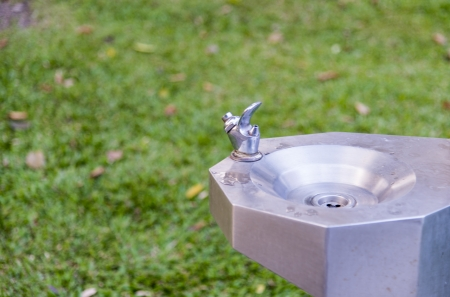 Faucet in the park photo