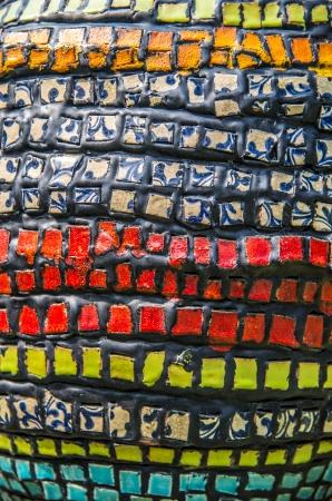 Bloc mur coloré pattern4