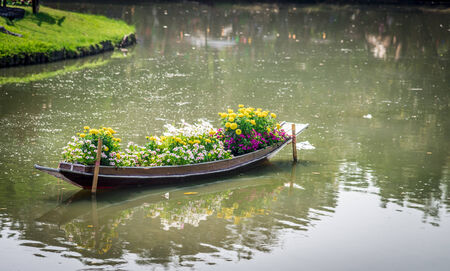 Flower in the boat1