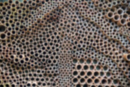 seamless: Ceramic pipe wall pattern in Blur style Stock Photo