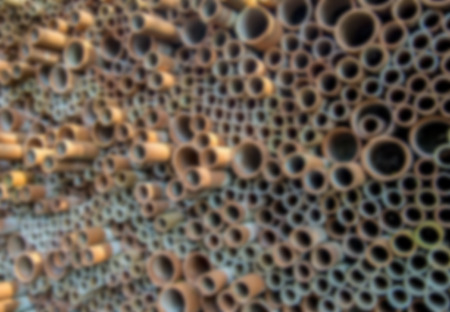 Ceramic pipe wall pattern in Blur style photo