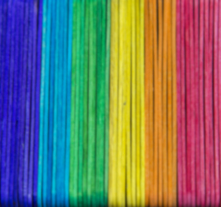 Colorful wooden stripe in Blur style photo