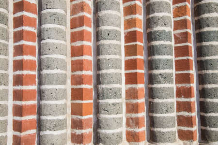 two tone: Two tone stripe wall pattern