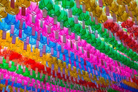 lotus lantern: Colorful paper lantern for Lotus lantern festival in South Korea 10