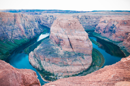 horse shoe: Horse shoe bend in Arizona