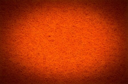 Orange scrub pad texture in HDR filter style Stock Photo