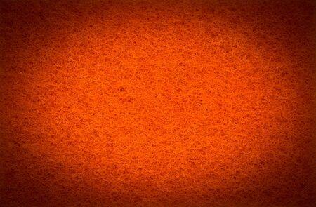 orange washcloth: Orange scrub pad texture in HDR filter style Stock Photo