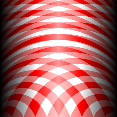 diagonal stripes: Two tone red stripes curve abstract pattern background concept Illustration