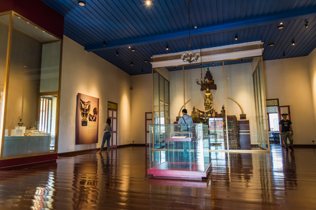 Nan National Museum has on display artefacts and history of Nan Province in Thailand Éditoriale