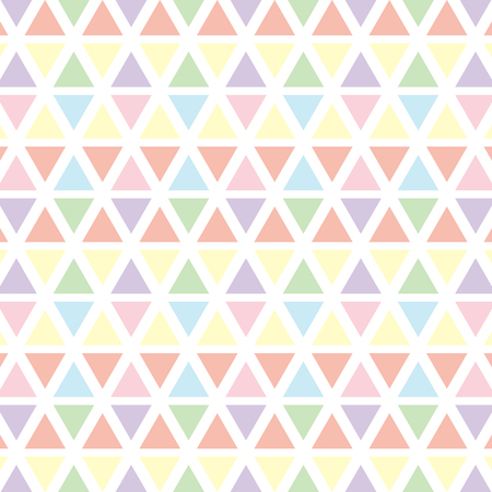Colorful pastel triangle pattern background for vector graphic design concept idea