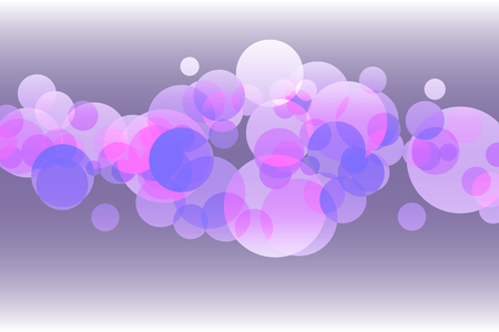Abstract bubble purple dots in the center for background concept idea