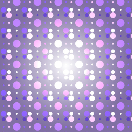 Abstract purple dots pattern for vector background design concept idea